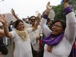 Condenados a muerte los responsables de violar hasta la muerte a una joven