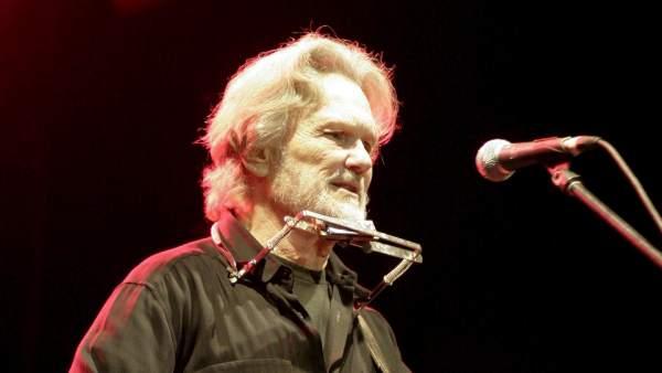 El músic 'country' i actor nord-americà Kris Kristofferson.