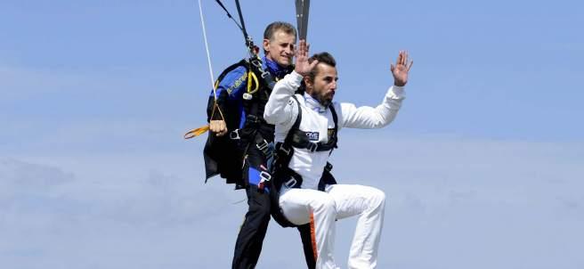 Competición de saltos de paracaídas