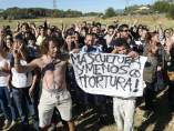 Protesta en Tordesillas
