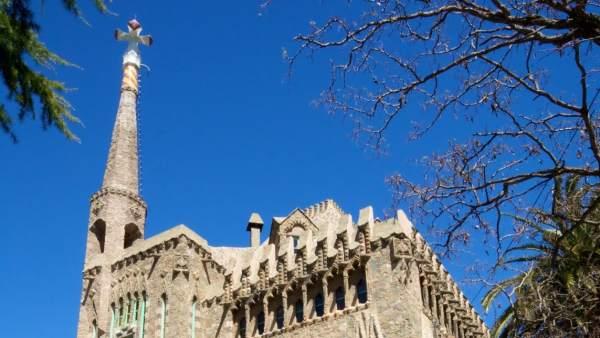 Torre Bellesguard de Barcelona, obra de Antoni Gaudí.