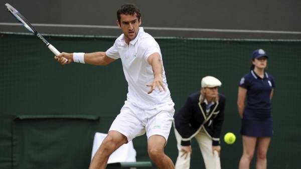 El tenista croata Marin Cilic