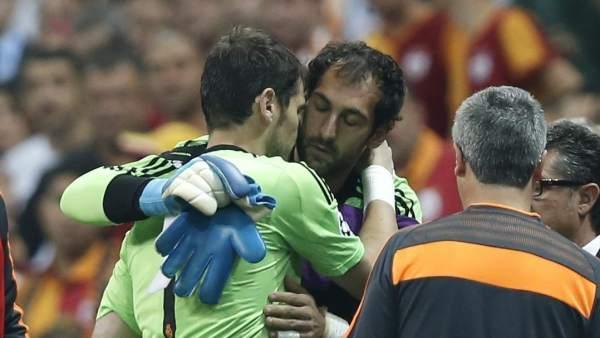 Diego López e Iker Casillas
