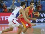 Calderón ante Serbia
