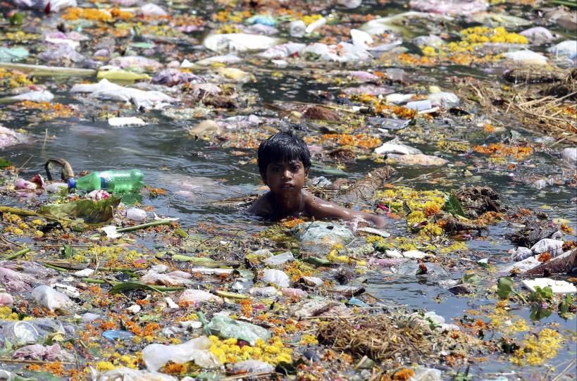 Un baño contaminado