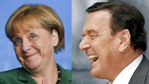Merkel y Schroeder