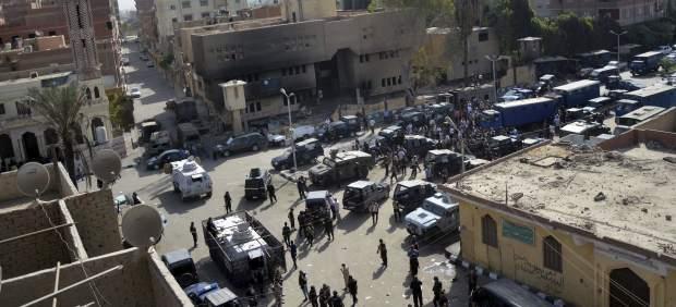 Operación en Kerdasa, Egipto