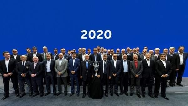 32 federaciones candidatas a ser sede en la Eurocopa 2020