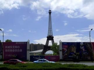 Réplica china de la Torre Eiffel