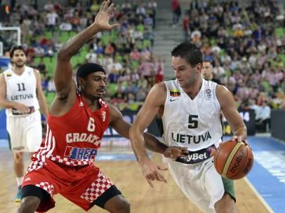 Lituania-Croacia en el Eurobasket 2013