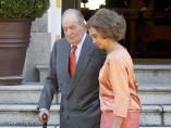 El rey Juan Carlos y doña Sofía