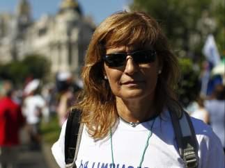 María Jesús García, limpiadora