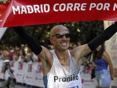 Chema Martínez, ganador de la Madrid Corre por Madrid