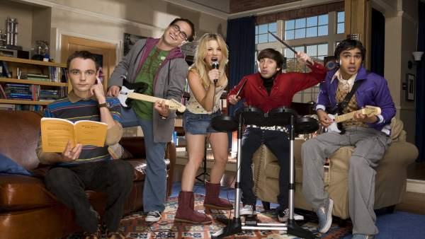 'The Big Bang Theory' es renovada tres temporadas más