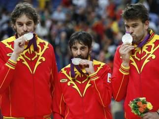Navarro, Pau y Marc Gasol