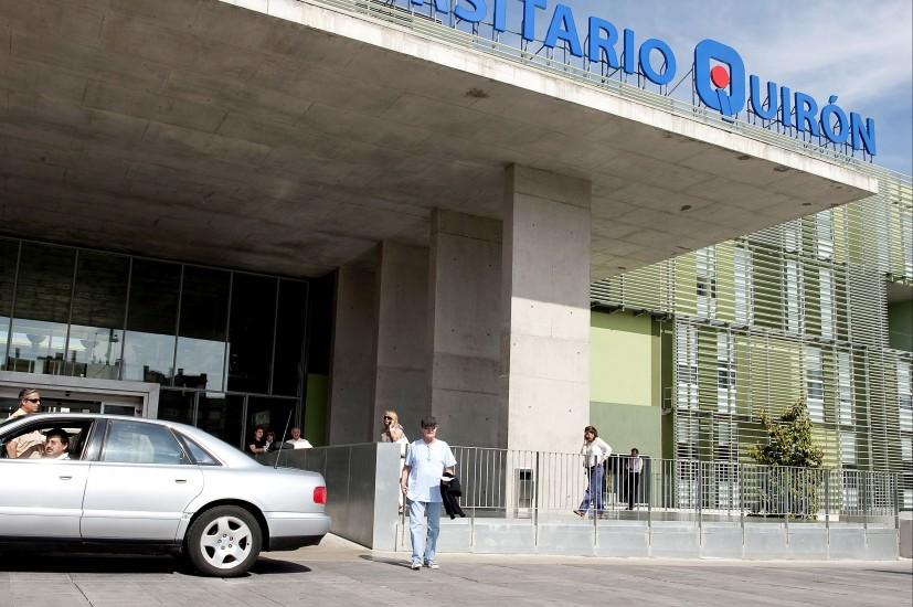 Fallece un hombre frente a un hospital en madrid sin que for Pisos universitarios madrid