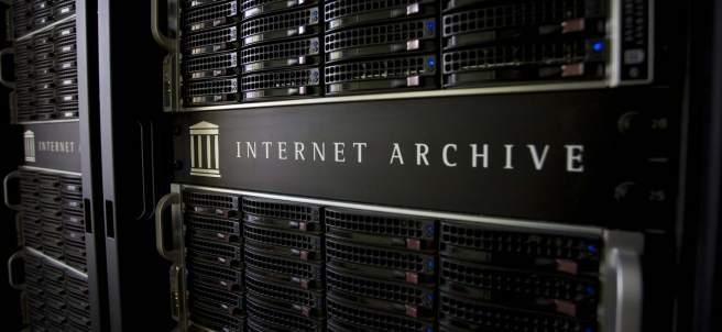 Servidores de Internet Archive