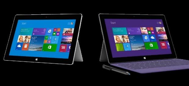 Microsoft presenta los nuevos modelos de sus tabletas 'Surface'
