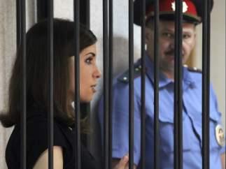 Nadezhda Tolokónnikova, de las Pussy Riot