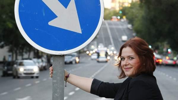 Elisabet Benavent, autora de 'En los zapatos de Valeria'