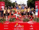Euskaltel, el mejor equipo de la Vuelta 2013