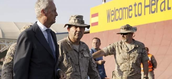 Pedro Morenés en Afganistán