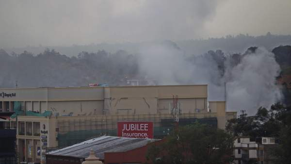 Centro comercial Westgate, en Nairobi