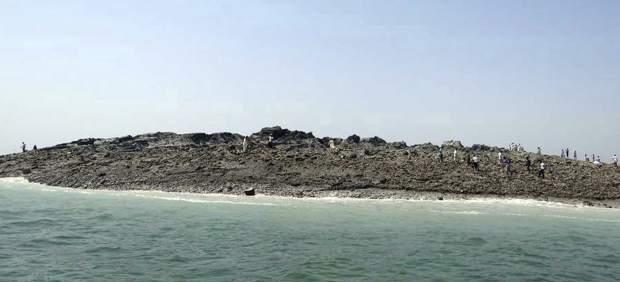 Isla surgida de un terremoto