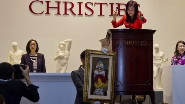 Christie's vende un Picasso en China