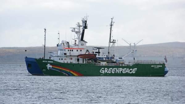 Arctic Sunrise de Greenpeace