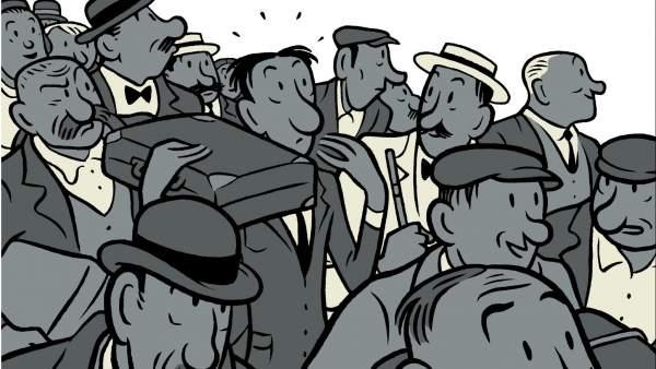 'El Fogonero', de Kafka, celebra su centenario con ilustraciones del dibujante barcelonés Max