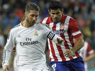 Sergio Ramos y Diego Costa