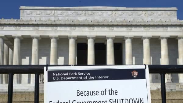 'Cierre' parcial del Gobierno en Estados Unidos