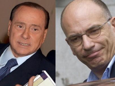 Berlusconi - Letta