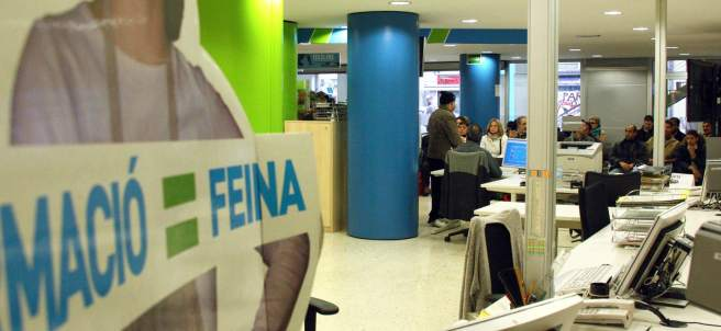 Desempleo noticias fotos encuestas y trivials de for Oficinas soc barcelona