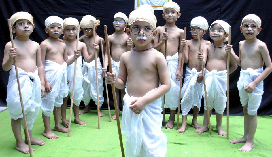 Homenaje a Gandhi