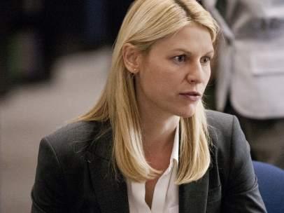 La agente Carrie Mathison (Claire Danes) en 'Homeland'