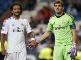 Casillas y Marcelo