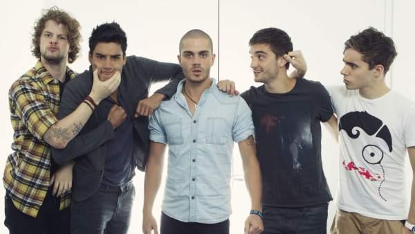 Los cinco miembros del grupo 'The Wanted'.
