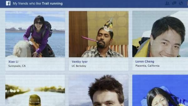 Nuevas búsquedas en Facebook