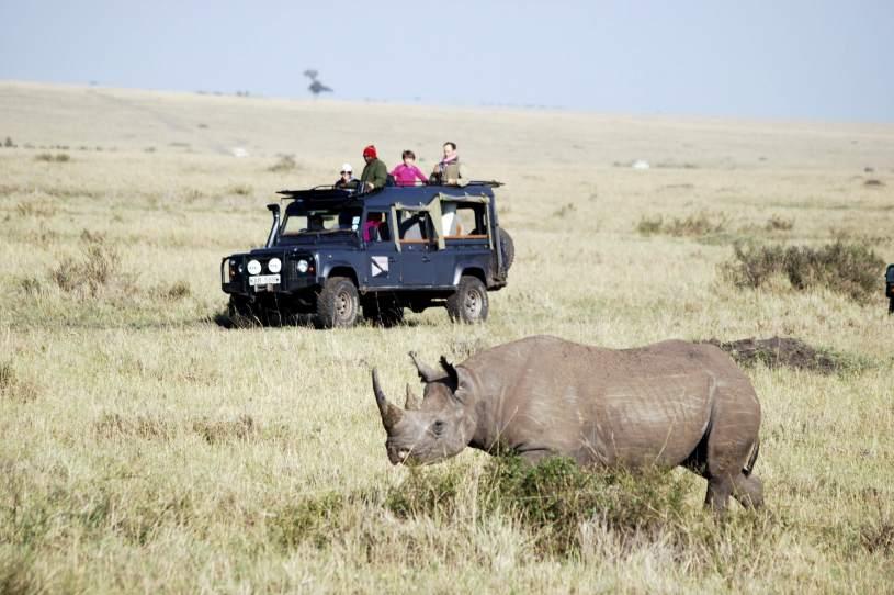Golpe al turismo de Kenia
