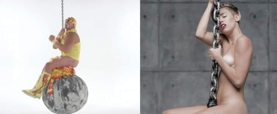 Miley Cyrus parece igual de desnudo