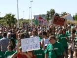 Protesta contra el Proyecto Castor