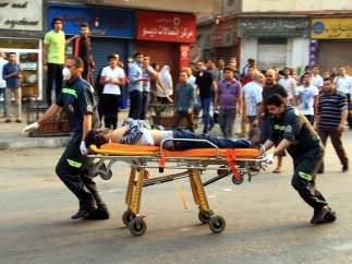 Heridos en Egipto