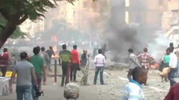 Enfrentamientos sangrientos en Egipto