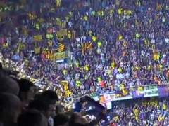 Pitada en el Camp Nou