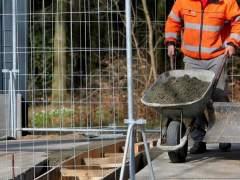 La actividad de la construcción cae en España