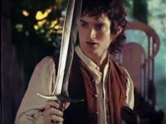 Frodo (Elijah Wood) en El señor de los anillos