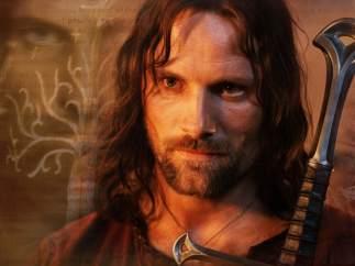 Viggo Mortensen encarna a Aragorn en El Señor de los anillos