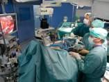 Operación de tiroides por la axila